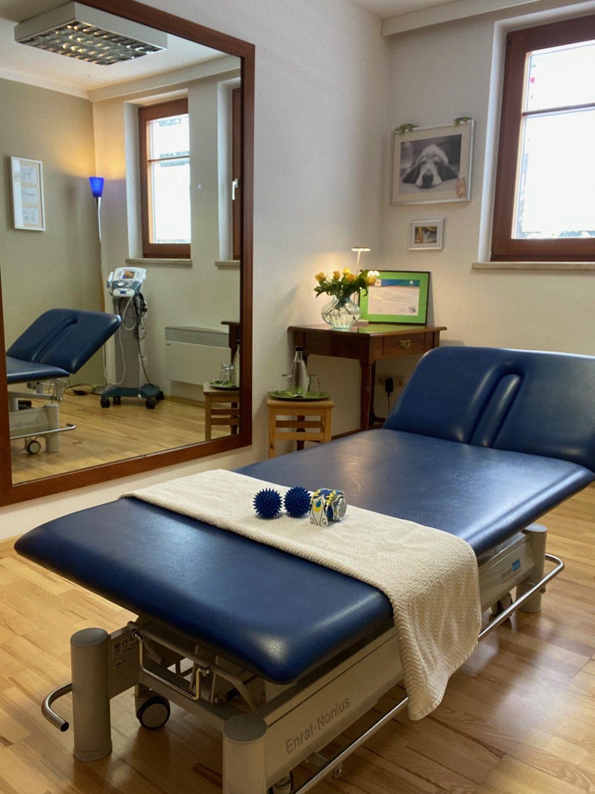 Behandlungszimmer Praxis Sophie Gross